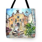 Del Carmen Church In Cartagena Tote Bag