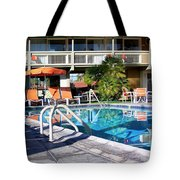 Del Marcos Pool Palm Springs Tote Bag