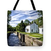 Delaware Canal Kingston New Jersey Tote Bag