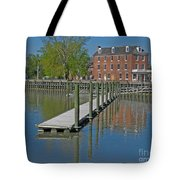 Delaware City Hotel Tote Bag