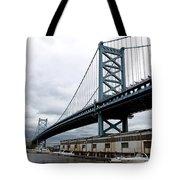 Delaware River Bridge - Philadelphia Tote Bag