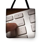 Delete Key Tote Bag