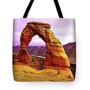 Delicate Arch - Arches National Park Tote Bag
