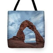 Delicate Arch Blue Hour Tote Bag