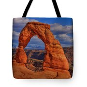 Delicate Arch View Tote Bag by Greg Norrell