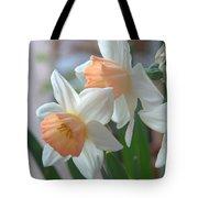 Delicate Daffodils  Tote Bag