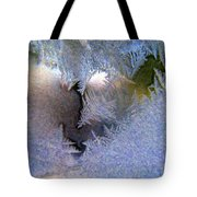 Delicate Ice - Digital Painting Effect Tote Bag