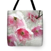 Delicate Tree Peonies Branching Out Tote Bag
