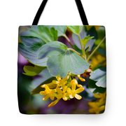 Delicate Yellow Flowers Tote Bag