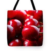 Delicious Cherries Tote Bag