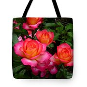 Delicious Summer Roses Tote Bag