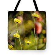 Delightful Florets Tote Bag