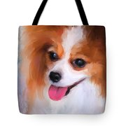 Delightful Papillon Tote Bag