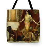 Delilah And The Philistines Tote Bag
