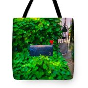 Deliver The Mail Tote Bag