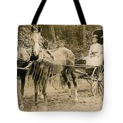 Delivering The Mail 1907 Tote Bag