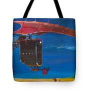 Delivery After The Rain Tote Bag