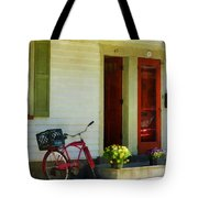 Delivery Bicycle By Two Red Doors Tote Bag