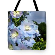 Delphinium With Cloud Tote Bag