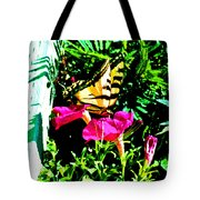Delta Butterfly Dazes Tote Bag