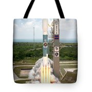 Delta II Launch With Space Telescope Tote Bag