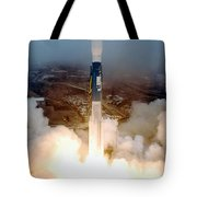 Delta II Rocket Taking Off Tote Bag