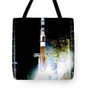 Delta Iv Rocket Tote Bag