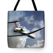 Delta Jet Tote Bag