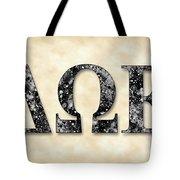 Delta Omega Epsilon - Parchment Tote Bag