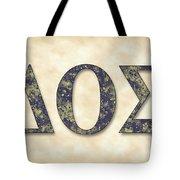 Delta Theta Sigma - Parchment Tote Bag