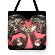 Masques / Tragedy/comedy Masks Tote Bag