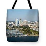 Demens Landing St Petersburg Tote Bag