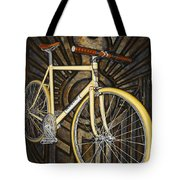 Demon Path Racer Bicycle Tote Bag by Mark Jones