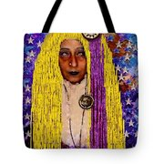 Demonica Vintage Goth Tote Bag