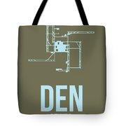 Den Denver Airport Poster 3 Tote Bag