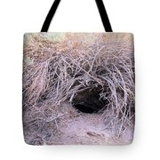 Den In Death Valley Tote Bag