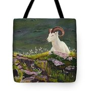 Denali Dall Sheep Tote Bag