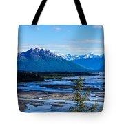Denali Mountain Range Tote Bag