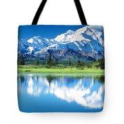 Denali National Park Ak Usa Tote Bag