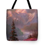Denali Summer - Alaskan Mountains In Summer Tote Bag