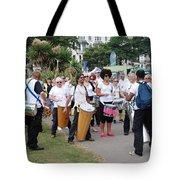 Dende Nation Samba Drum Troupe Tote Bag
