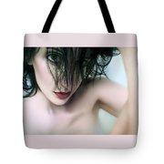 Denials Downward Spiral - Self Portrait Tote Bag