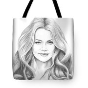 Denise Richards Tote Bag