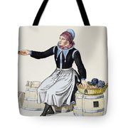 Denmark Vegetable Vendor Tote Bag