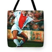 Dennis Bergkamp 2 Tote Bag by Paul Meijering