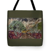 Dense Cloudy Weather Tote Bag