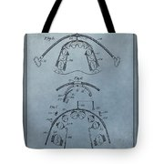 Dental Braces Patent Design Tote Bag