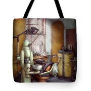 Dentist - Dental Office Circa 1940's Tote Bag