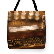 Dentist - Detachable Tooth Shade Guide  Tote Bag