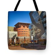Denver Art Museum Courtyard Tote Bag
